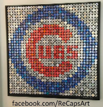 Cubs Cap Art